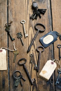 Love old skeleton keys!